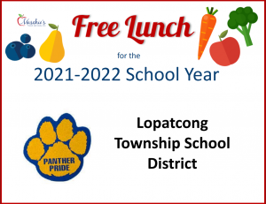 free lunch for the 2021-2022 school year